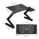 Laptop Stand With Adjustable Folding Ergonomic Design