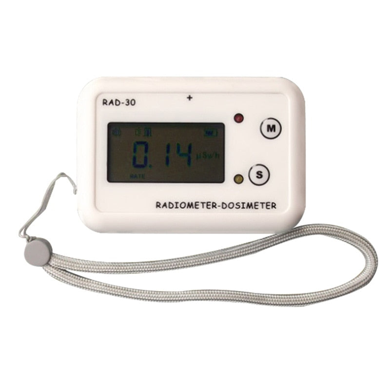 RAD-30 Personal Radiation Dose Alarm Instrument Card-type Radiation Dose Meter