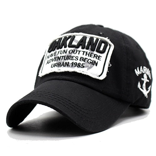 Men Snapback Caps Women Baseball Cap Oakland Brand Casquette Hats For Men Bone Letter Gorras Embroidered 2018 Baseball Cap Hats