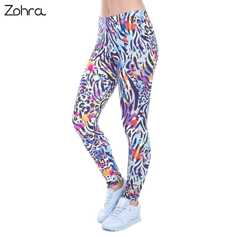 WOMEN HIGH WAIST STRETCH LEGGINGS BY: ZOHRA