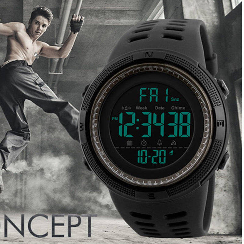MEN DIGITAL LED SPORT WATCHES
