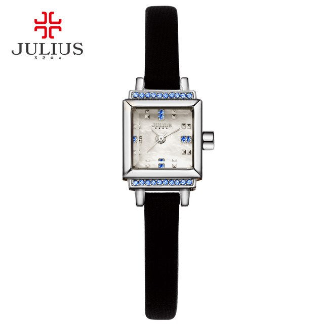 JULIUS Women Watch Stainless Steel Ladies Designer Japan Movt Quartz Watch Price Expensive Quality WR30m Watch With Logo JA-880