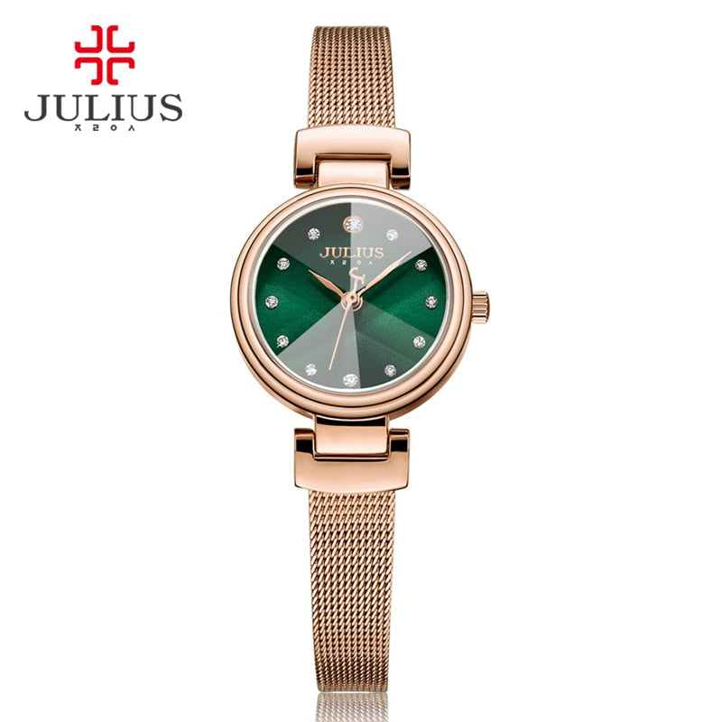 Julius Expensive Quartz Whatch Women's Bracelet Watch Ladies 2017 New Korean Design Factory Direct Watch Dropshipping JA-1020