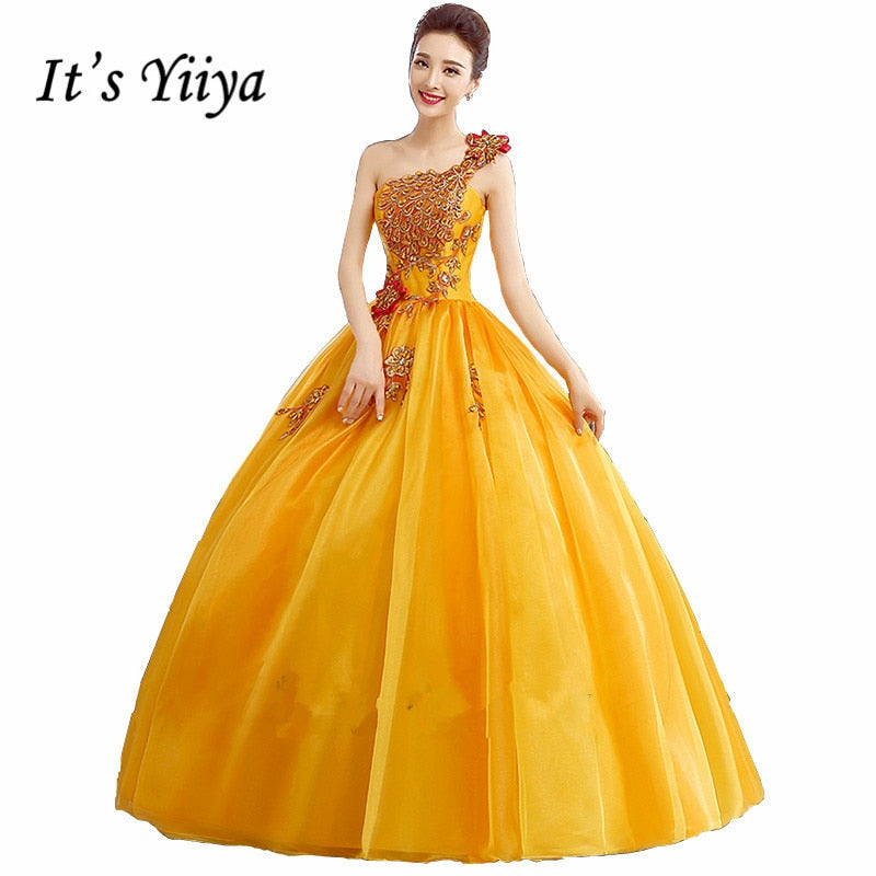 New Free Shipping Plus Size Wedding Dresses Blue Golden Wedding Ball Gowns Real Picture Bridal Frock Appliques Dress MHL001