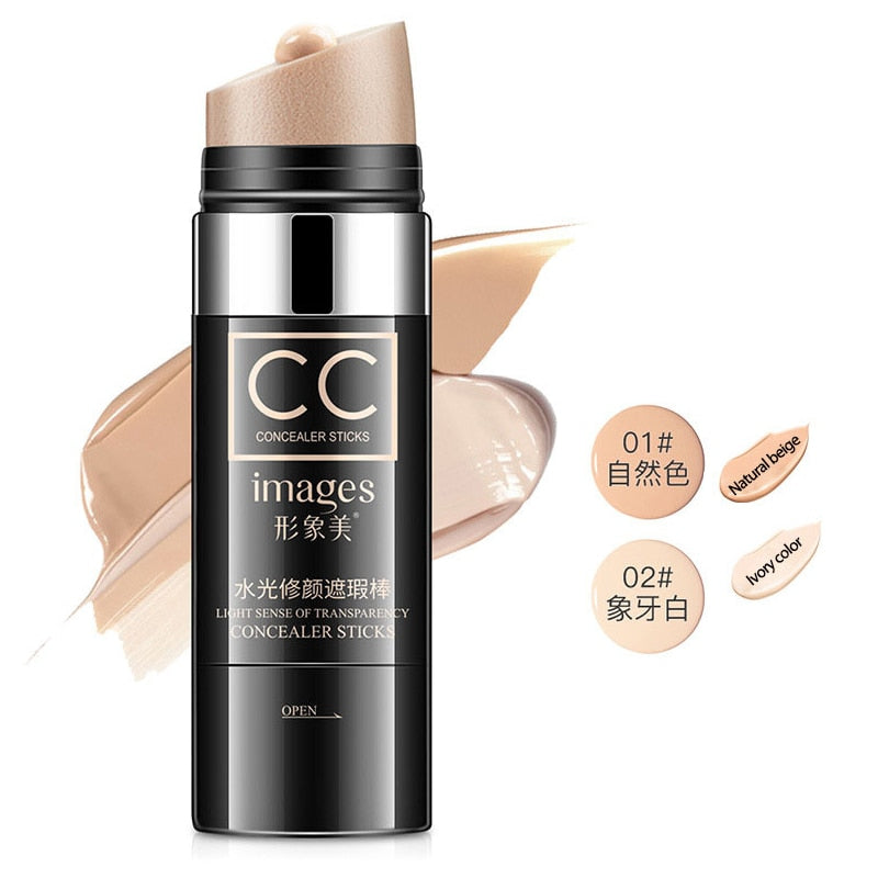 ROREC 30g Foundation CC cream Light Moisturizer Face Cream Concealer Whitening Cream Sun Block Perfect Cover Makeup Cosmetics