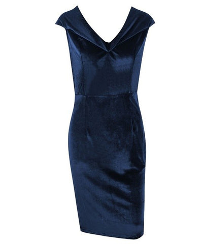Sexy Off Shoulder Sheath Velvet Midi Dress Strapless Women New Year Party Dress Christmas Elegant Pencil Bodycon Dress Vestidos