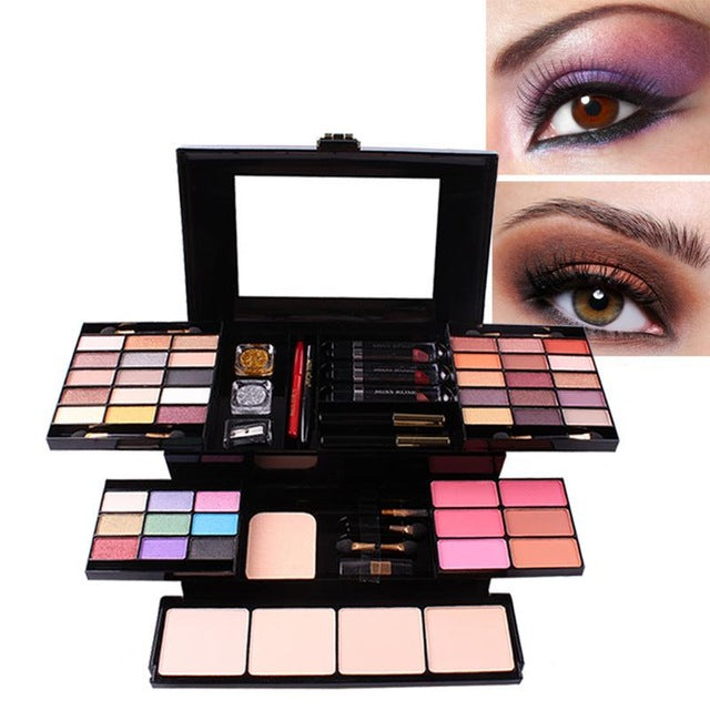 Makeup Set Box Professional 39 Color Make Up Sets Eyeshadow Lip Gloss Foundation Powder Makeup Kit De Maquiagem Cosmetics