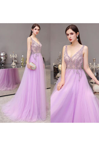 Image of A-Line Pageant Dresses Brilliant Rhinestones Beading Embellished - 7