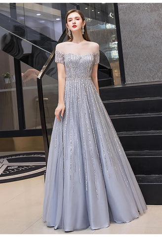 Image of A-Line Pageant Dresses Brilliant Rhinestones Beading - 6