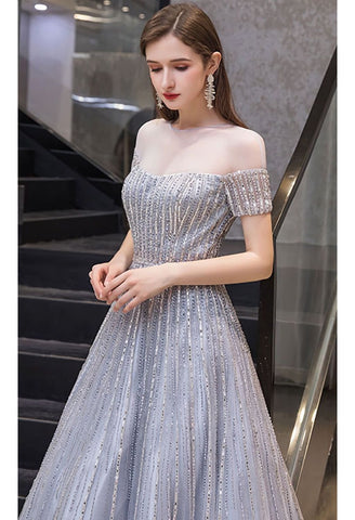Image of A-Line Pageant Dresses Brilliant Rhinestones Beading - 4