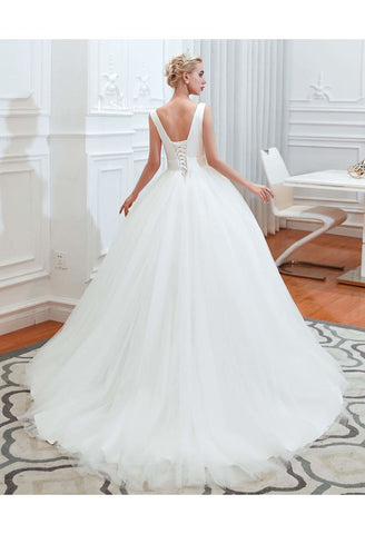 Image of Beach Bride Dresses Pure Simplicity Tailing - 6