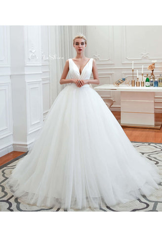 Image of Beach Bride Dresses Pure Simplicity Tailing - 4