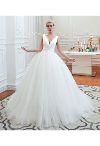 Image of Beach Bride Dresses Pure Simplicity Tailing - 7