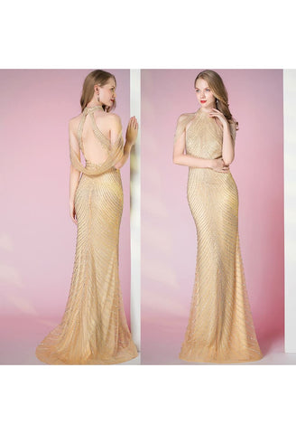 Image of Mermaid Pageant Dresses Luxury Rhinestones Curvy - 7