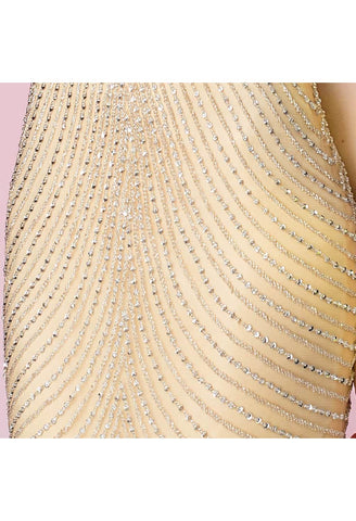 Image of Mermaid Pageant Dresses Luxury Rhinestones Curvy - 6