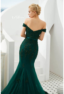 Mermaid Pageant Dresses Off-Shoulder - 5