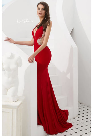 Image of Mermaid Pageant Dresses with Gorgeous Back - 4