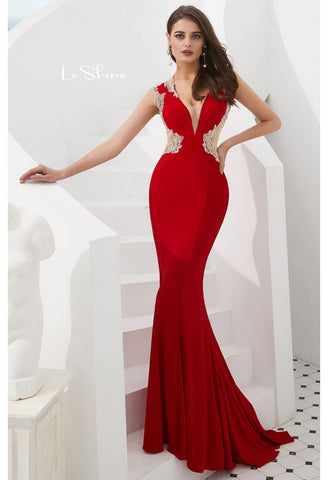Image of Mermaid Pageant Dresses with Gorgeous Back - 1