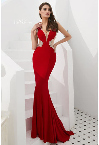 Image of Mermaid Pageant Dresses with Gorgeous Back - 3