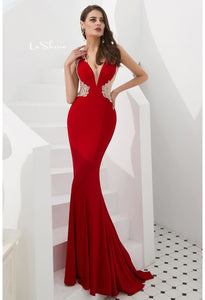 Mermaid Pageant Dresses with Gorgeous Back - 3