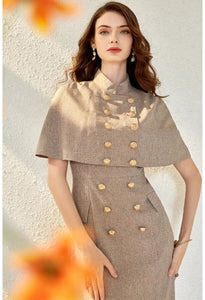 Pencil Dresses with Shawl Junoesque - 3