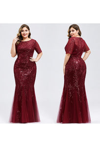 Plus Size Prom Dresses Delicate Embroidery Se