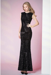Sheath Pageant Dresses Glamorous Sequins - 4