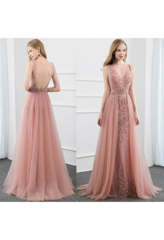 Image of Sheath Prom Dresses Stunning Rhinestones Tully - 7