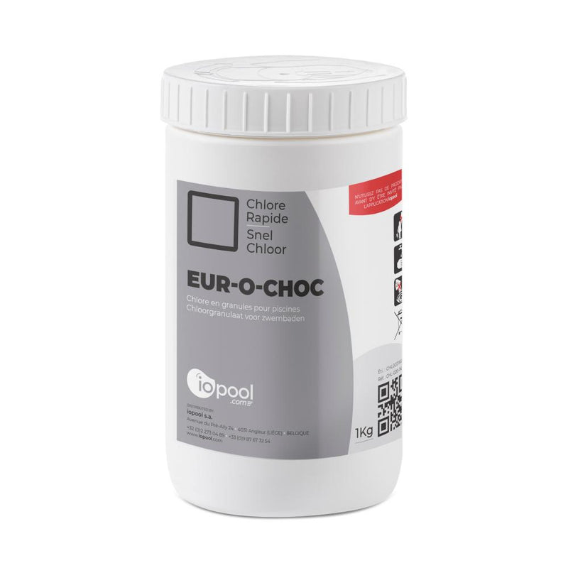Chlorine shock (fast acting powder) - 1kg iopool