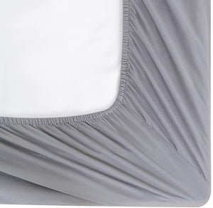 30CM Deep Fitted Sheet 200 Thread Count 100% Egyptian cotton Double, King Size Sheets - seventhstitch