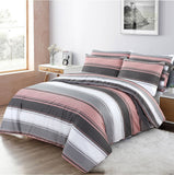 Designer Duvet Cover 200 Thread Count 100% Cotton Bedding Set Double King Super King Quilt Covers - seventhstitch