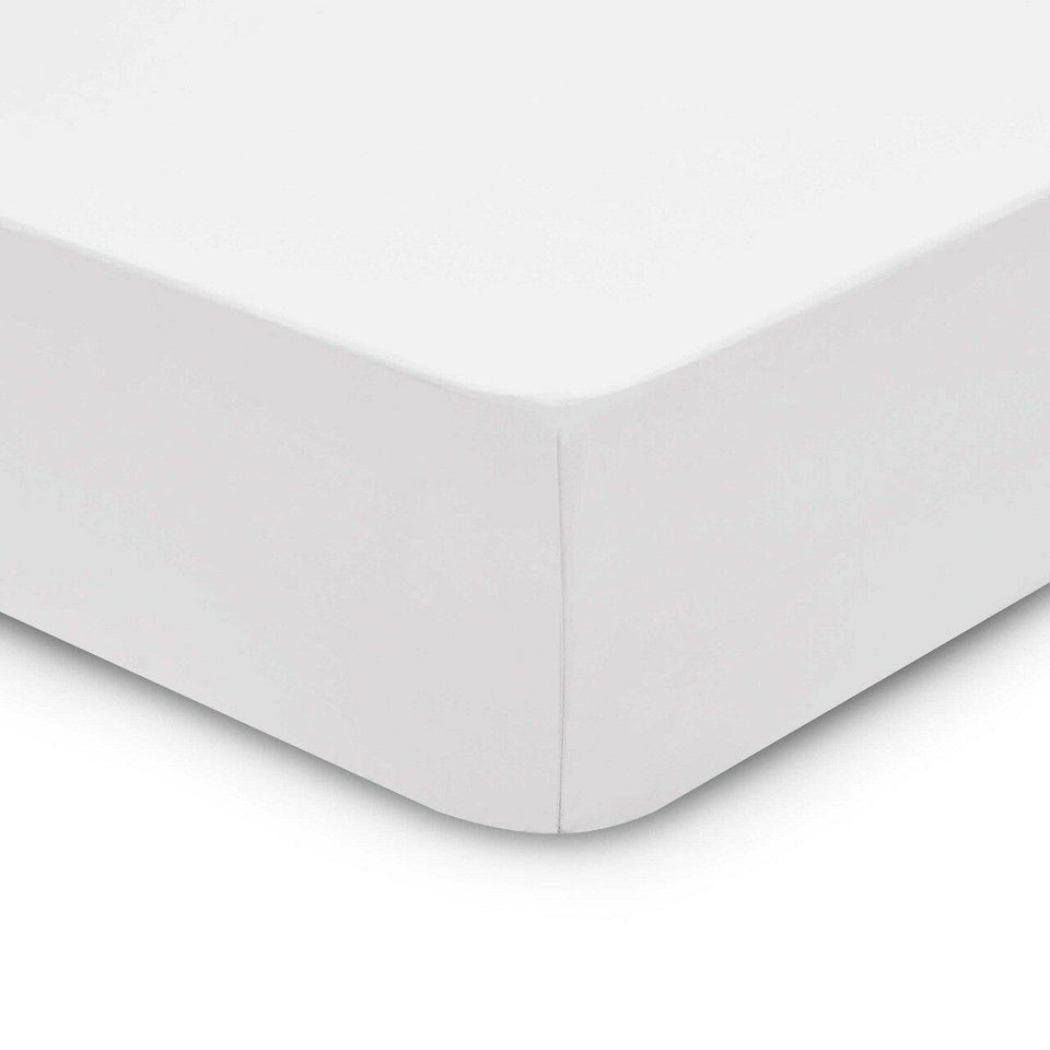 30CM DEEP FITTED SHEET 400 TC THREAD COUNT 100% EGYPTIAN COTTON DOUBLE KING SIZE - seventhstitch