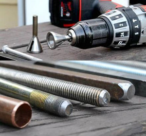 Deburring Tool That Repairs Damaged Bolts【Buy one get one free】
