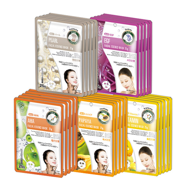 MITOMO SPECIAL BRIGHTENING AMAZING SET with 25 masks