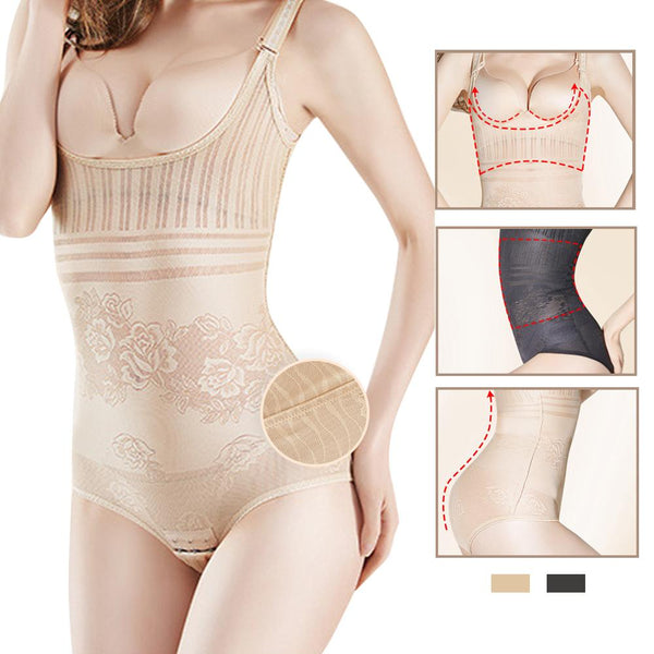 [MPFA00007]MEIPENG Ladies Full Body Shaper Slimming Bodysuit Tummy Control Girdle Corset Shapewear