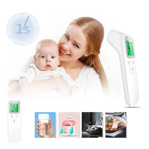 [MPHA00016] MEIPENG Non-contact infrared thermometer gun portable with handheld type thermometer forehead