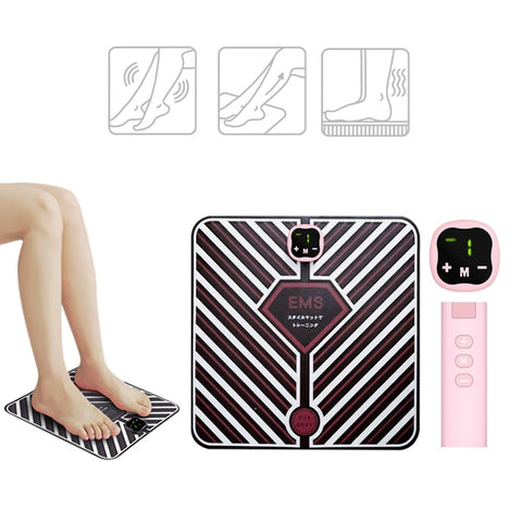 [MPHA00022] MEIPENG EMS vibration sole physiotherapy charging multifunctional foot massage instrument EMS massage foot pad sole massage instrument