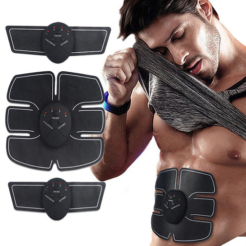 [MPHA00023] MEIPENG Home charging type intelligent abdominal muscle stick fitness instrument EMS abdominal trainer.
