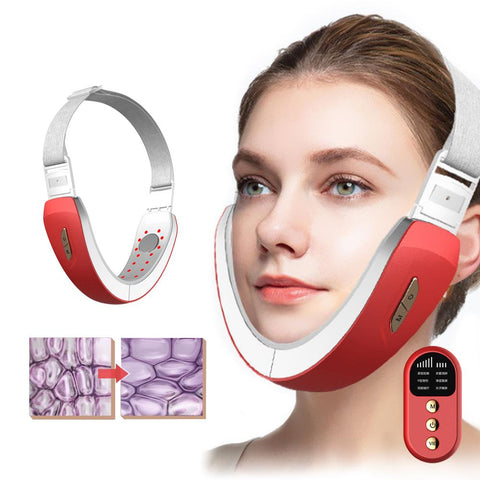 [MPTA00030] MEIPENG Intelligent v-face instrument micro current Facial Massager EMS remote control Bluetooth face slimming artifact beauty instrument slimming instrument