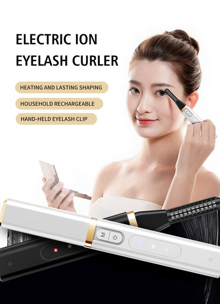 [MPTA00032] MEIPENG Electric ion eyelash curler heating and lasting shaping household rechargeable hand-held eyelash clip