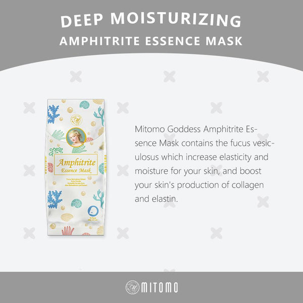 [MG101-D-150] MITOMO Goddess Amphitrite  Essence Mask (10pcs/Unit)