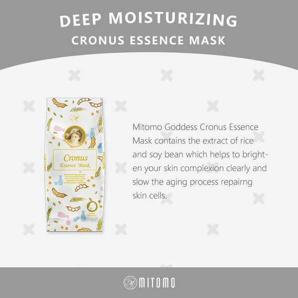 [MG101-H-150] MITOMO Goddess Cronus Essence Mask (10pcs/Unit)
