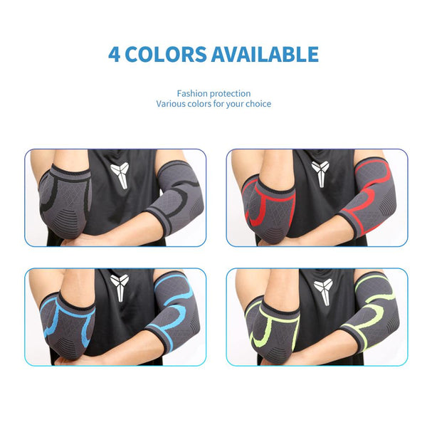[MPFA00011] MEIPENG outdoor sports elbow support arm guard basketball protective gear breathable wicking sports knitted protective gear wholesale yoga belt waist support