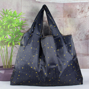 [MPHA00011] MEIPENG Large STYLISH Nylon Foldable Reusable Grocery Shopping Bag
