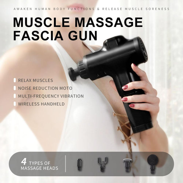 【MPHA00020】MEIPENG Charged electric massage gun muscle relaxation massager portable fitness equipment fascia gun
