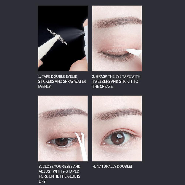 [MPTA00002]Invisible Lift Double Eyelid Stickers Makeup Eye Sticker Tape Strips