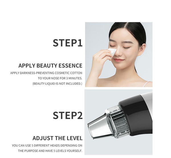 [MPTA00018] MEIPENG Explosions Color Blackhead Remover Electric Pore Cleaner Home Beauty Instrument