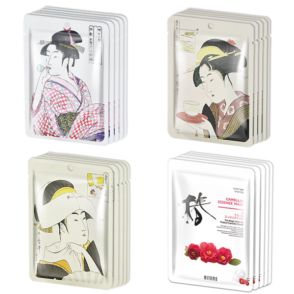 MITOMO Special Promotional Face Mask Sheets - pack of 20  LUCKY BOX set 02