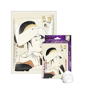 Japan MITOMO Hyaluronic Acid + Lithospermum Facial Essence Mask JP002-A-4