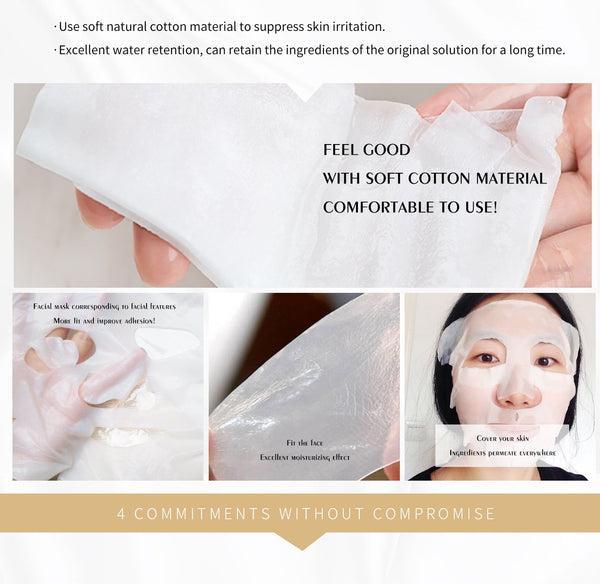 [LBMG000050] MITOMO MG Combo Magic Box Skincare Beauty Face Mask Sheet bundles-Made in Japan-50 pcs